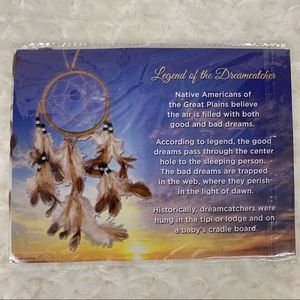 Feathered Small Dreamcatcher NWT
